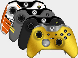 xbox on gaming controller graphics