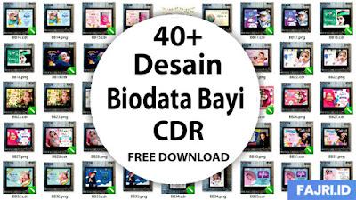 Download 40+ Desain Biodata Bayi Cdr Gratis