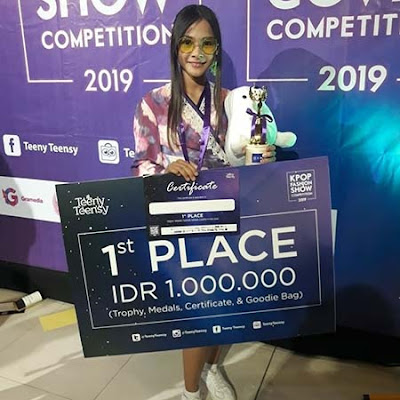 Nikita Rizki Teeny Teensy KPOP Fashion Show Competion 2019
