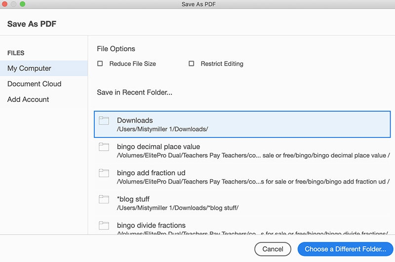 How to Flatten and Secure Your PDF for TPT