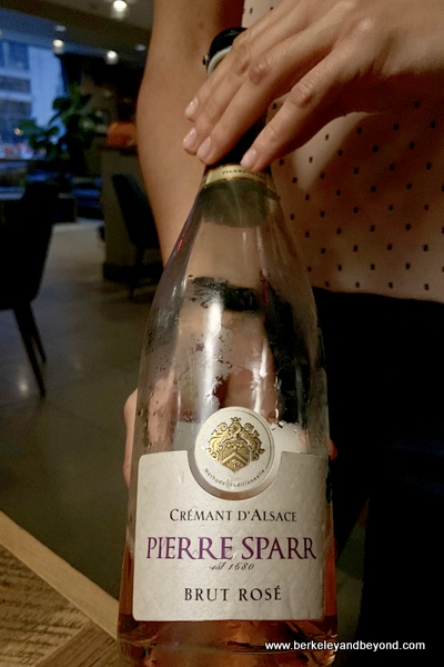 NV Pierre Sparr Rose (Alsace, France) wine at Veritas in Columbus, Ohio