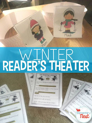 Reader's Theater for the winter- partner and 3-student plays with a winter theme- good for reading, comprehension, fluency, expression, and vocabulary