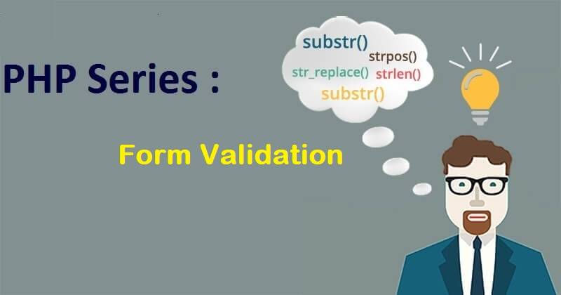 PHP Series : Validasi Form PHP