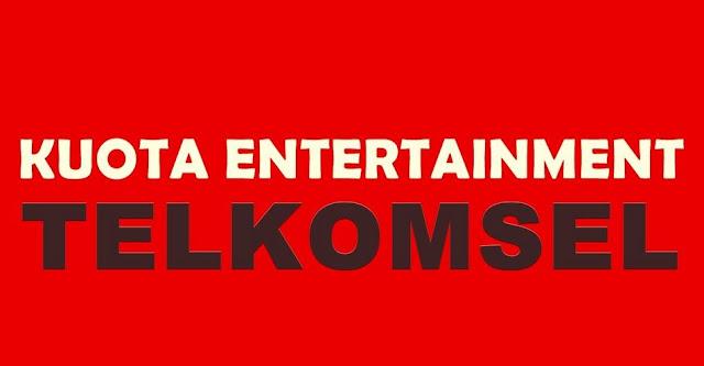Cara Menggunakan Kuota Entertainment Telkomsel