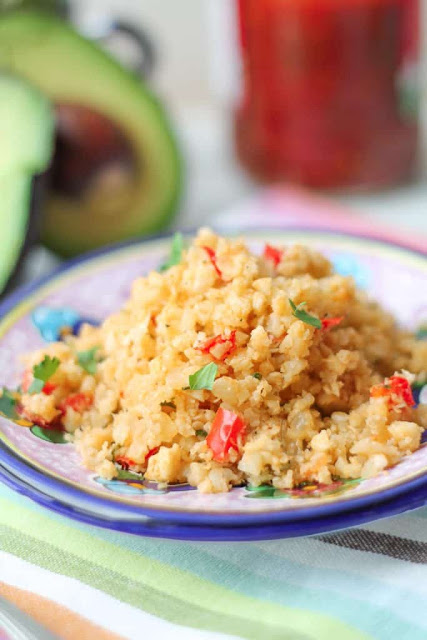 Mexican Style Cauliflower Rice