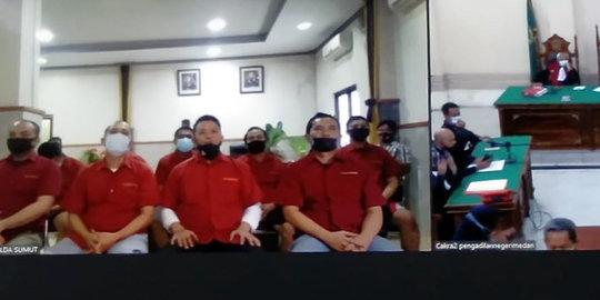 Rekayasa '327 Kg Ganja Tak Bertuan', 8 Oknum Polisi di Sumut Divonis 10-20 Tahun Bui