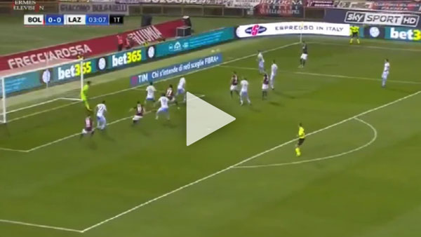 Video Bologna 1 - 2 Lazio Serie A Vòng 10