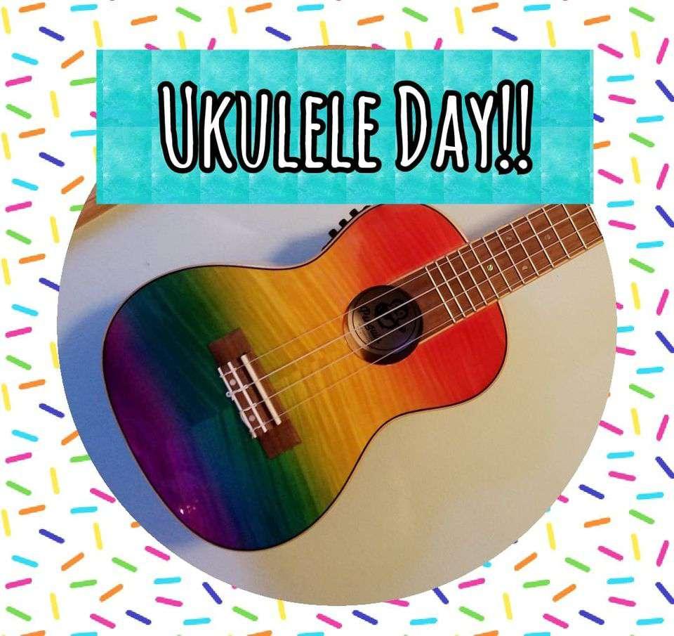 National Ukulele Day Wishes Images download
