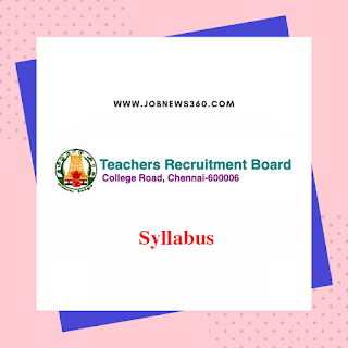 TNTET 2019 Syllabus for Paper 1 & Paper 2