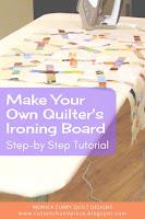 DIY Quilting Ironing Board - Quilting Tutorial