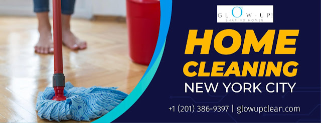 Glow up clean provides excellent home cleaning New York City service for you where you'll get a perfectly trained cleaner along with high-quality products and cleaning equipment to provide you the best service possible.