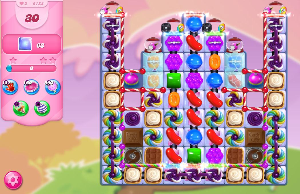 Candy Crush Saga level 6188