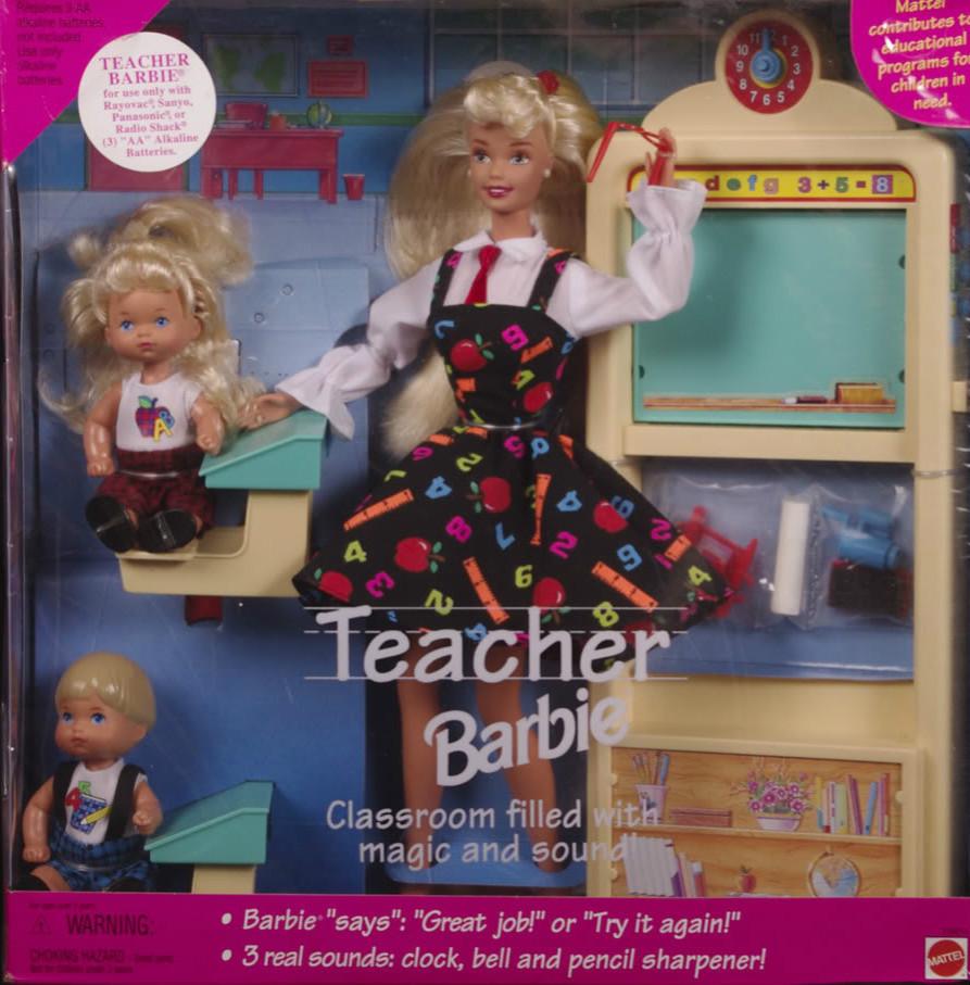 Barbie Playset Review Barbie Teacher Amp Classroom Play All