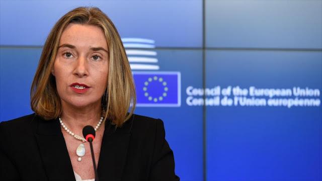 UE: Ningún país puede acabar con el pacto nuclear unilateralmente