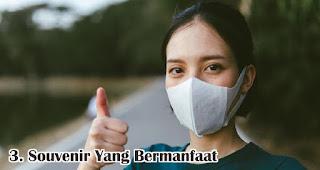 Souvenir Yang Bermanfaat merupakan keuntungan menjadikan masker sebagai souvenir