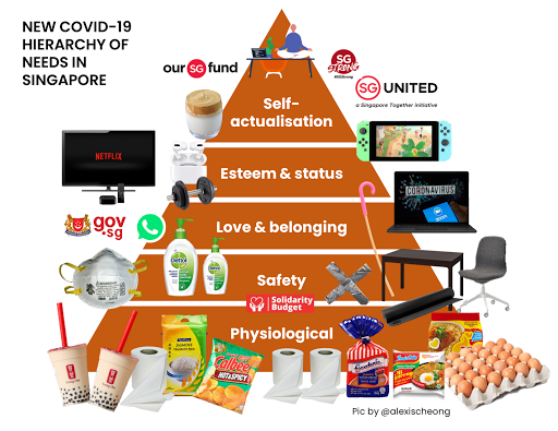 covid hierarchy of needs singapore