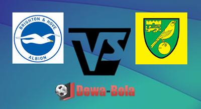 Brighton Hove Albion VS Norwich City 29 Oktober 2016