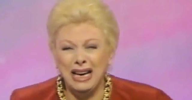 Sandra Milo piange dopo aver appreso di un incidente al figlio Ciro. Ma era uno scherzo