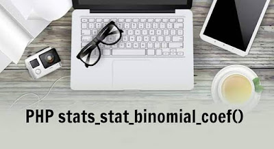 PHP stats_stat_binomial_coef() Function