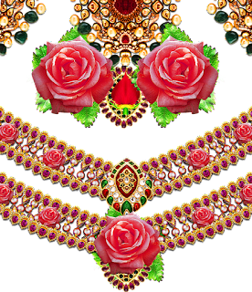 Rose-flower-art-design-for-textile-print