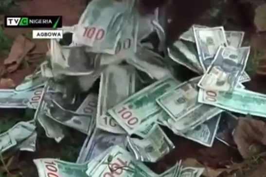 Dollars In Ikorodu Shrine