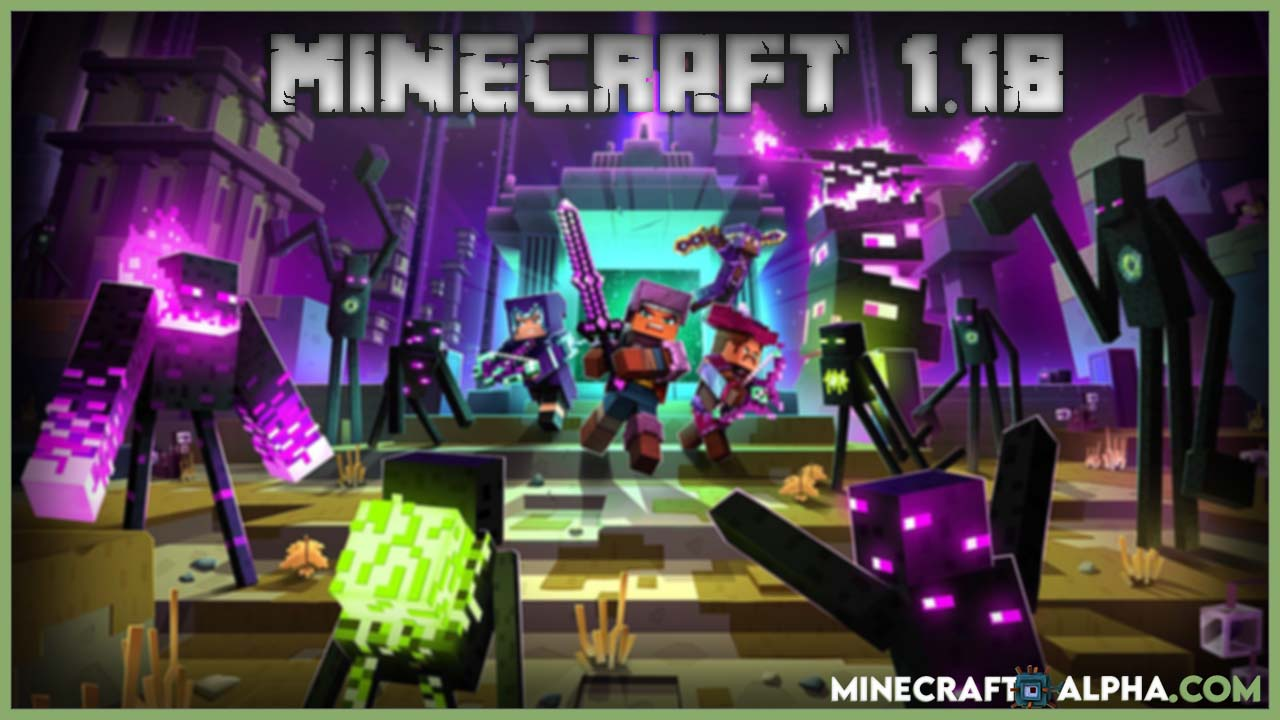Minecraft 1.18 Replace Snapshots Release Date Revealed