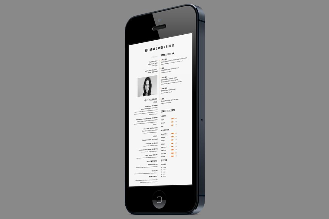 Como hacer un Curriculum Vitae en el movil celular o smartphone ...