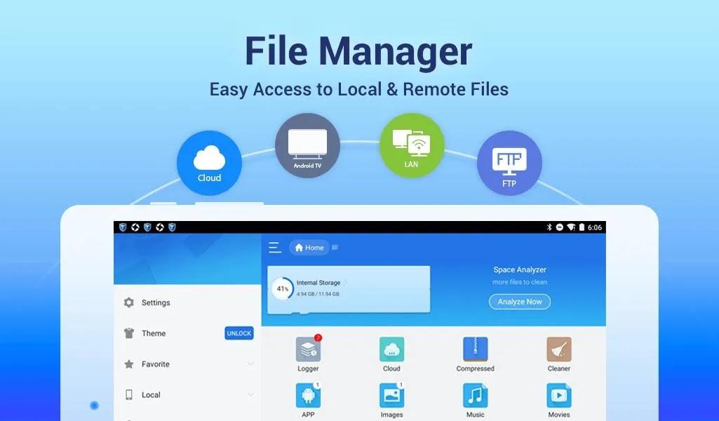 ES File Explorer Pro هو تطبيق لإدارة الملفات لأجهزة Android. إنه مفيد للغاية ومريح وأعتقد أنك لن ترغب في تخطيه!