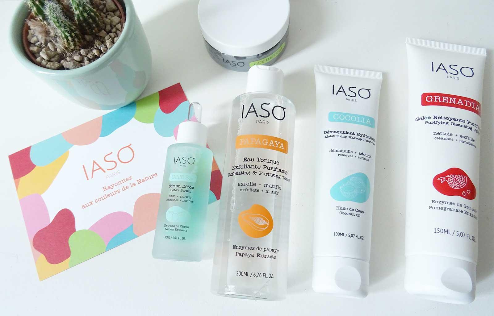 """Routine soins """"Easy Detox"""" IASO Paris"""