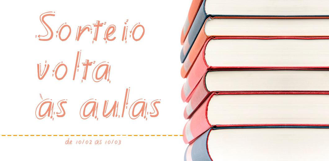 Sorteio: Volta às Aulas | Ganhe livros e itens de papelaria