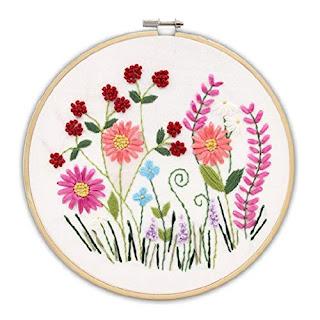 Image Represents a simple cross stitch design