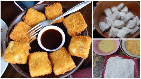 Resep Membuat Tahu Crispy Yang Enak, Gurih dan Krenyes Krenyess Krenyesss