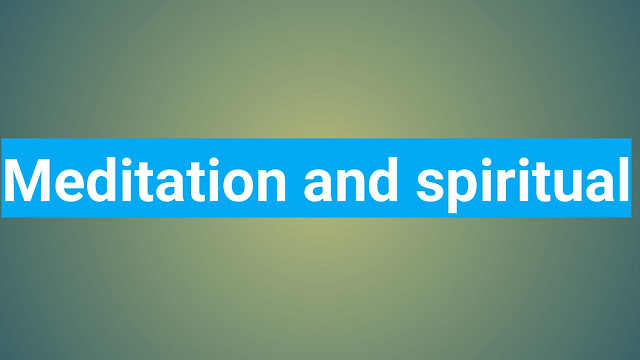 Intence Meditation And Spiritual Evolution
