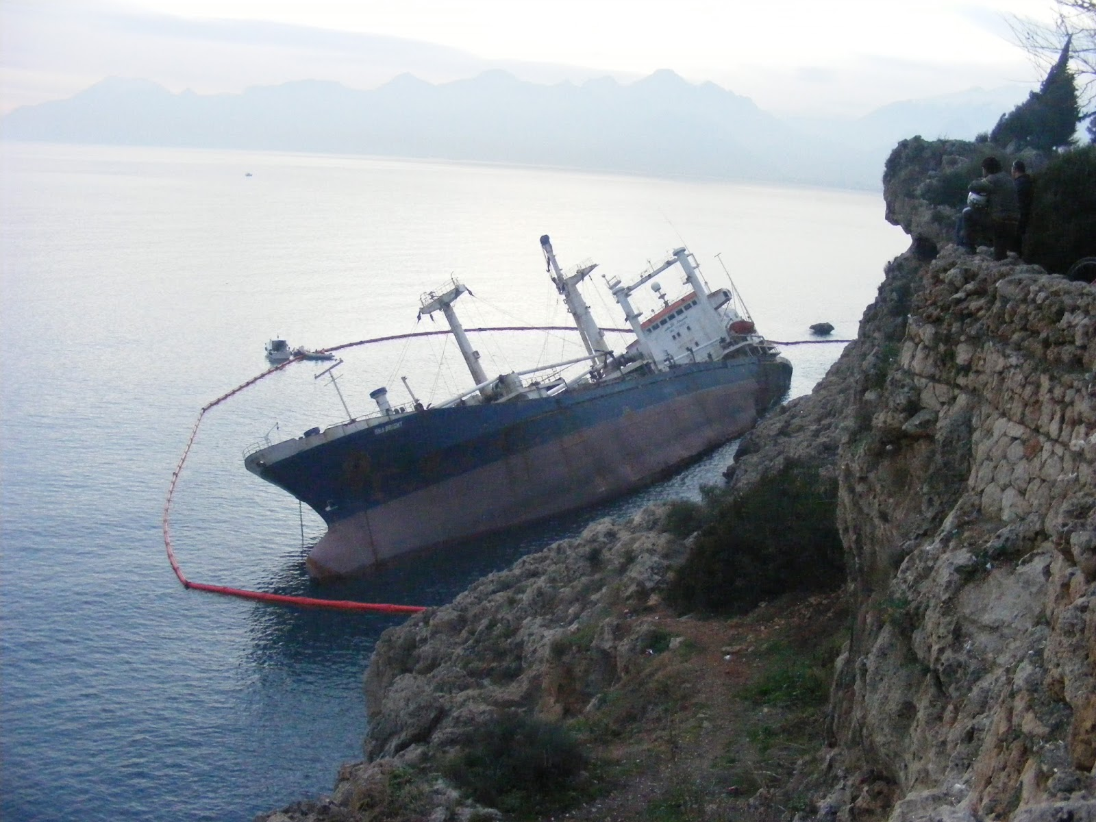 Batan Gem Sinking Ship