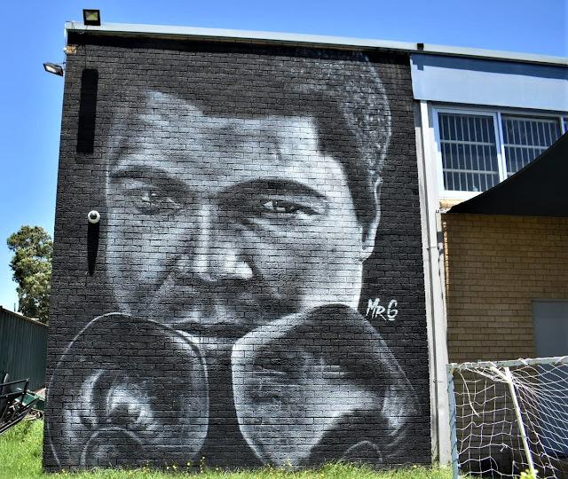 MR G mural in Blacktown, Sydney