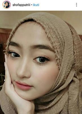jilbab warna mocca
