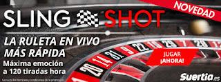 nueva slot suertia Sling Shot la ruleta en vivo mas rapida