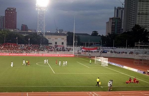 Indonesia Vs Myanmar, Skor 2-2 !!