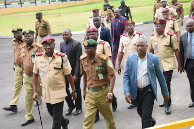 Pictures: FRSC Boss Visits Nigerian Correctional Service (Prisons) In Abuja