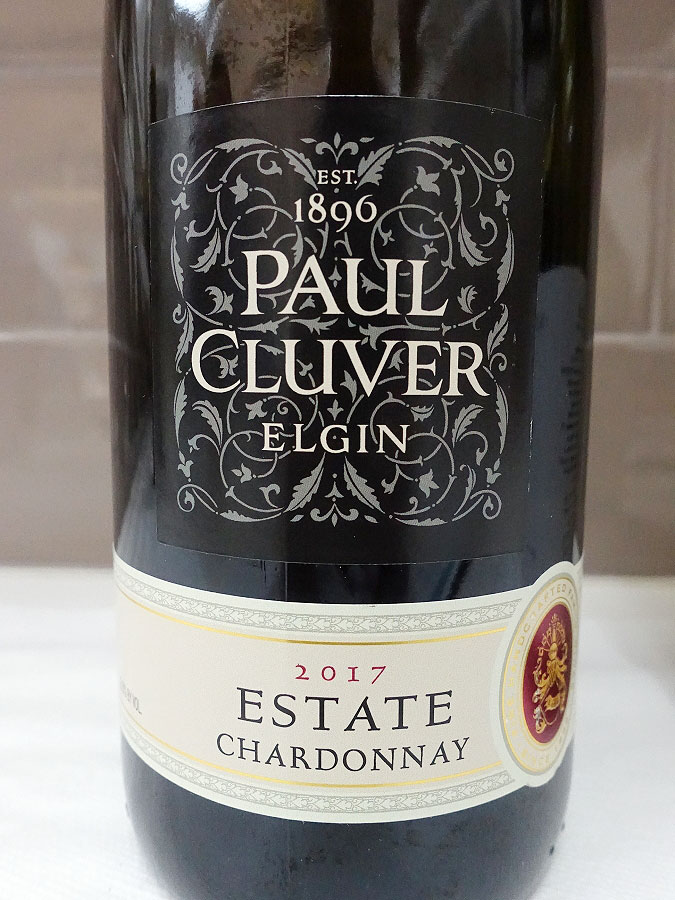 Paul Cluver Estate Chardonnay 2017 (90+ pts)