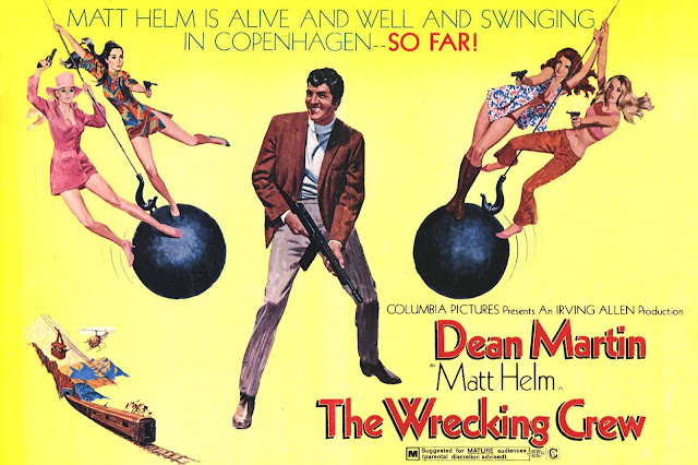 Quentin Tarantino's Swinging Sixties - The Wrecking Crew Film Poster - Phil Karlson, 1968