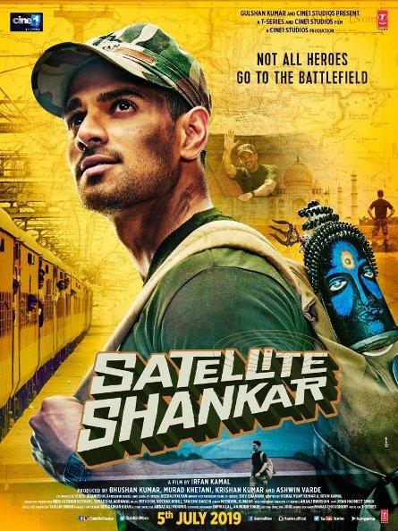 full cast and crew of Bollywood movie Satellite Shankar 2019 wiki, Rajkummar Rao The Great story, release date, Satellite Shankar wikipedia Actress name poster, trailer, Video, News, Photos, Wallpaper, Wikipedia