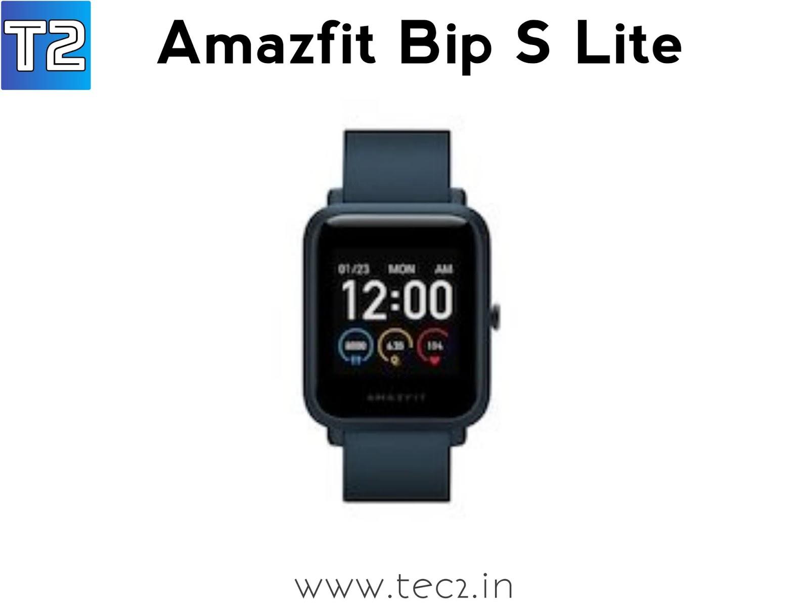 Amazfit Bip S Lite