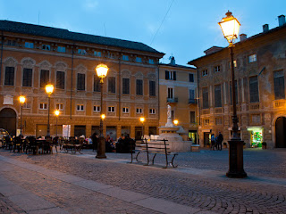 The Piazza Delle Piane is an elegant square in the centre of Novi Ligure, flanked by the Palazzo Delle Piane.