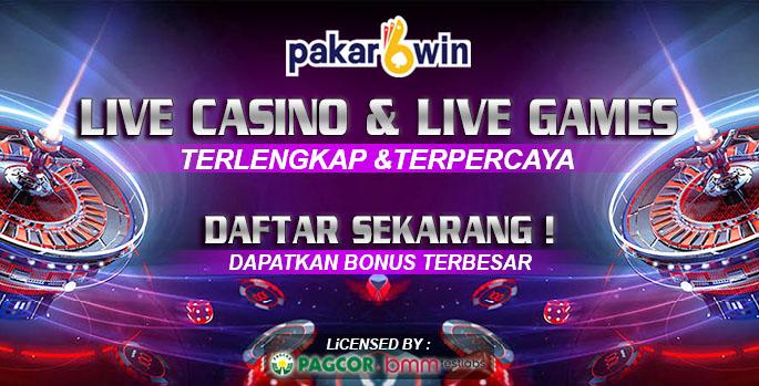 PAKARWIN | LIVE CASINO DAN LIVE GAMES TERPERCAYA