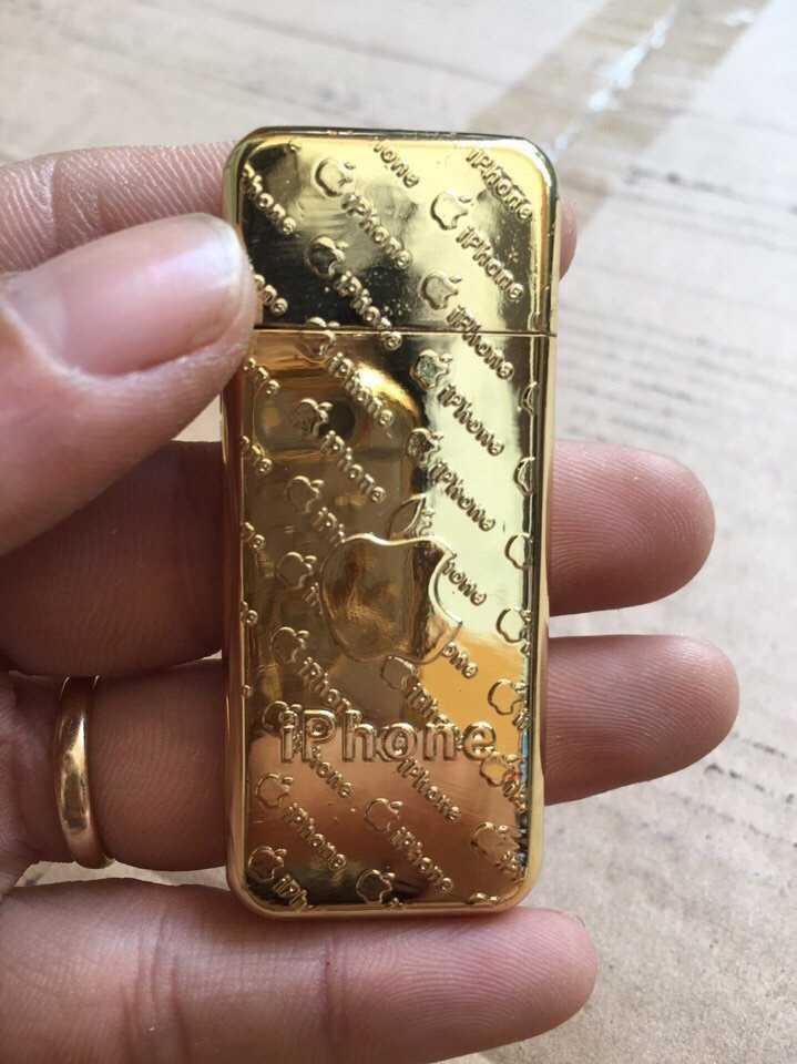Bật lửa hộp quẹt Chanel iPhone vàng giá rẻ