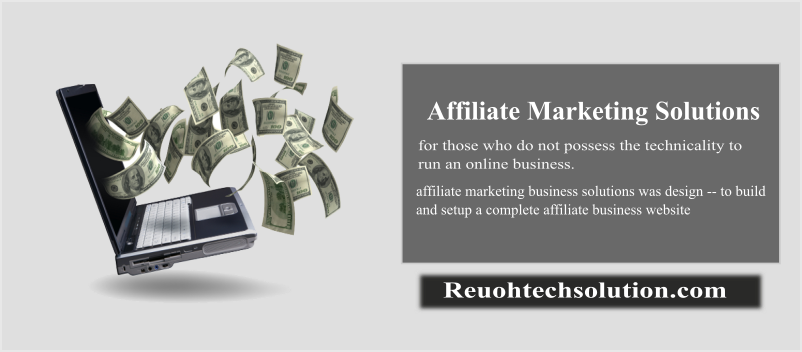 affiliate marketing solutions package