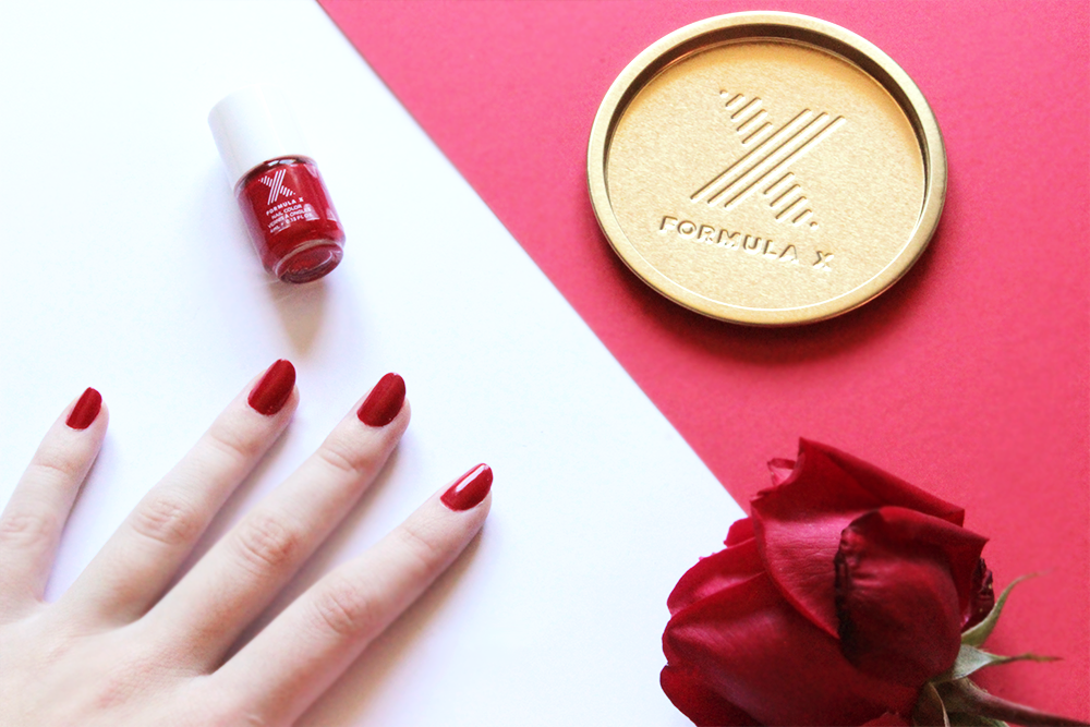 Formula X X♥ROUGE swatch