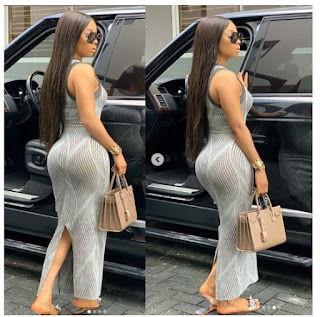 Toke Makinwa Flaunts Her Curvy Backside In New Stunning Photos