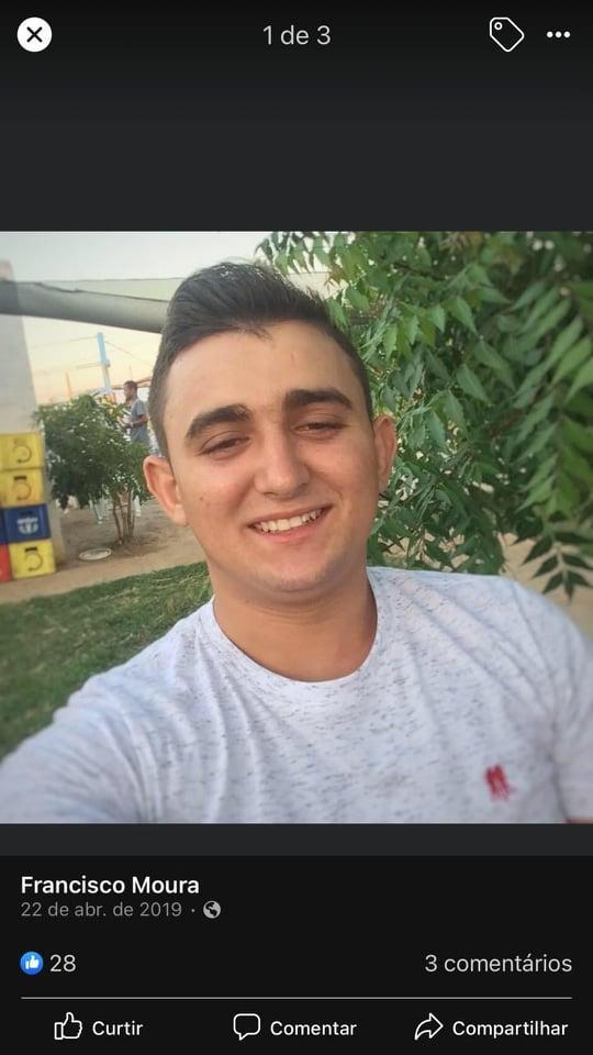 """TRÁGICO: Jovem Francisco Norberto, o """"Borrachinha"""" morre em acidente próximo ao terminal rodoviário em Elesbão Veloso."""